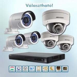 Hikvision belépő kültéri 2,1MP Full HD IP kamera rendszer