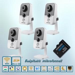 Shopguard Hikvision 4MP IP kamera rendszer
