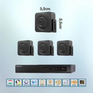 Kaméleon Hikvision 720P rejtett IP kamera rendszer