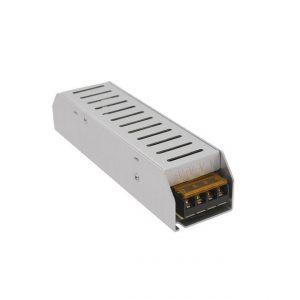 Hálózati stabilizált tápegység, 12VDC 10A, ipari, rövidzár-, túlfeszültség- és hőmegfutás elleni védelem