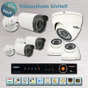SLIM PACK - Novus Full HD AHD kamera rendszer