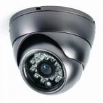 Dome térfigyelő kamera