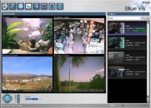 Blue Iris rögzítő szoftver