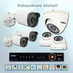 Novus Full HD AHD kamera rendszer