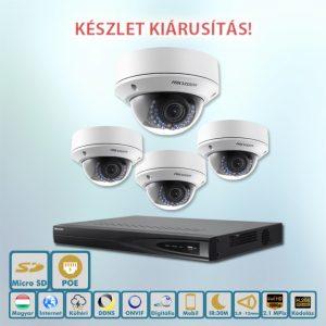 Hikvision 2,1MP kamerarendszer KÉSZLET KIÁRUSÍTÁS
