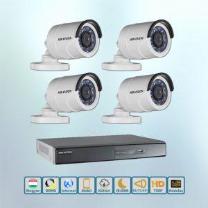 Hikvision 720P HD-TVI kamera rendszer