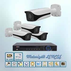 Luxus 4K Dahua IP kamera rendszer