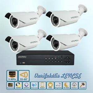 Maximus Vacron 5MP IP kamera rendszer