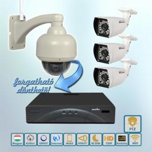 Sasszem Wansview PTZ 720P IP kamera rendszer