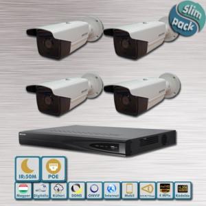 SLIM Pack – Sarki fény Hikvision 4MP IP kamera rendszer