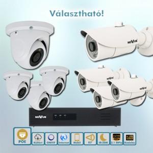 GRAND Vario Novus 2MP ip kamera rendszer
