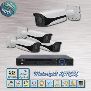 SLIM Pack Luxus 4K UHD Dahua ip kamera szett