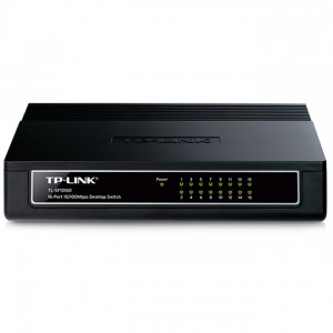 TP-Link TL-SF1016D Switch (10/100Mbps, 16 port)