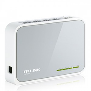 TP-Link TL-SF1005D Switch (10/100Mbps, 5 port)