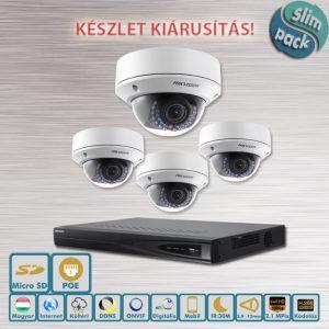 SLIM Hikvision Házőrző 2.1MP kamerarendszer