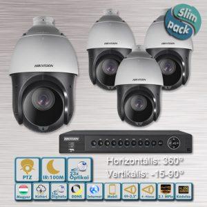 SLIM PACK - Góliát 2,1MP Speed dome IR:100m HD-TVI kamera rendszer