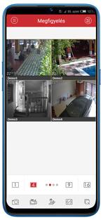 IP kamera okostelefonról és tabról